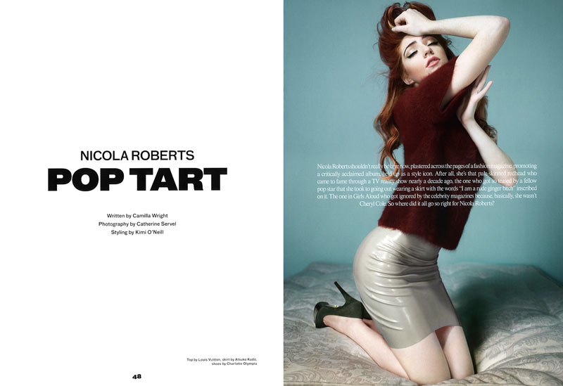 Nicola Roberts by Catherine Servel for Ponystep #2