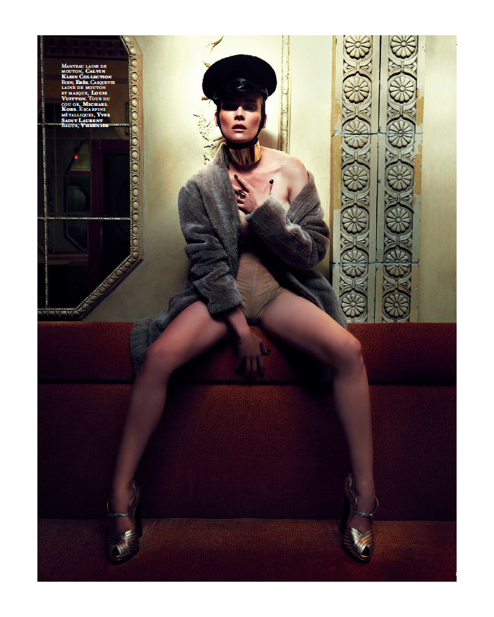 Diane Kruger by Gregory Derkenne for Citizen K Fall 2011