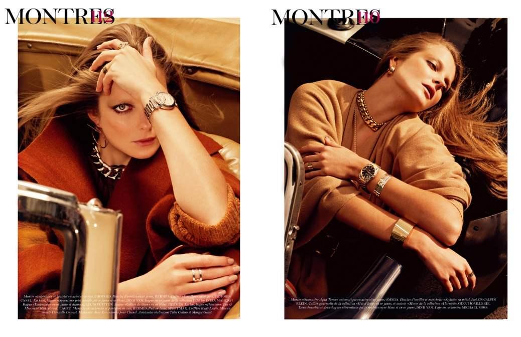 Eniko Mihalik by Sharif Hamza for Vogue Paris November 2011