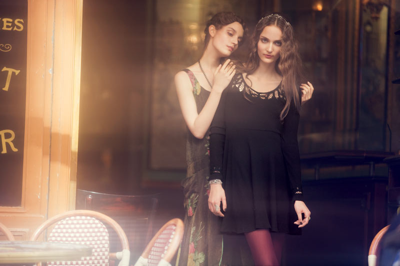 Elsa Hosk, Zuzanna & Julia Bijoch for Free People 'Through the Decades' Book by David Bellemere