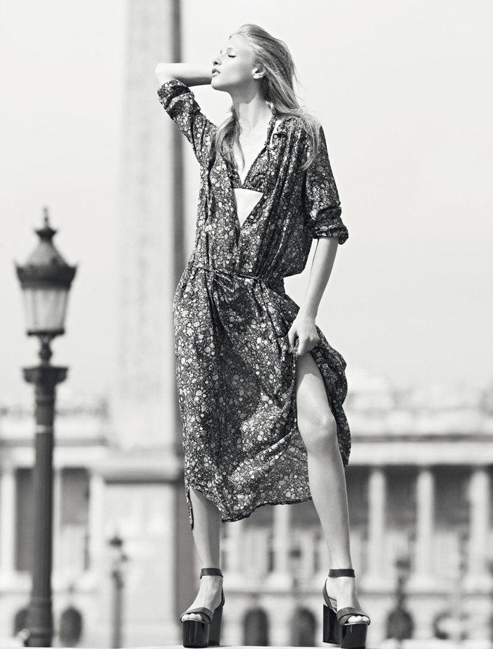 Anna Selezneva for Isabel Marant Etoile Spring 2012 Catalogue