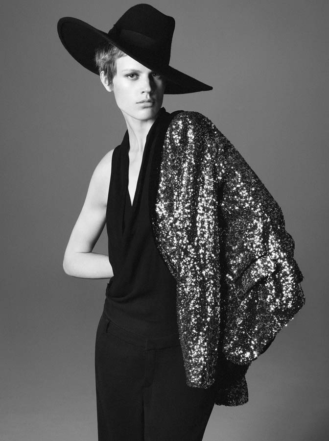 Saskia de Brauw for Zara Fall 2011 Campaign by David Sims