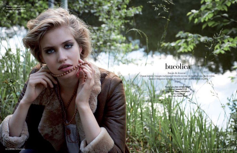Terese Pagh by Eric Guillemain for L'Officiel Paris November 2011