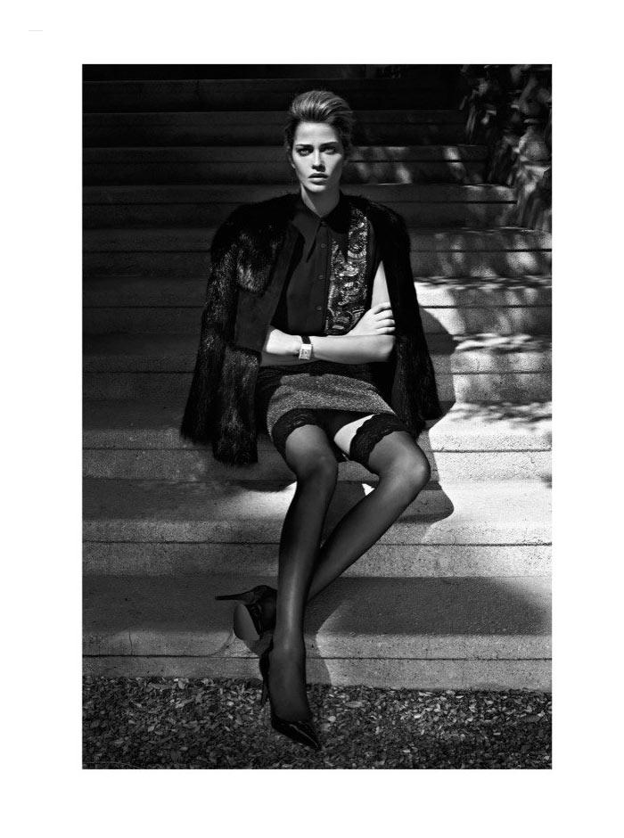 Ana Beatriz Barros by Koray Birand for Harper's Bazaar Turkey November 2011