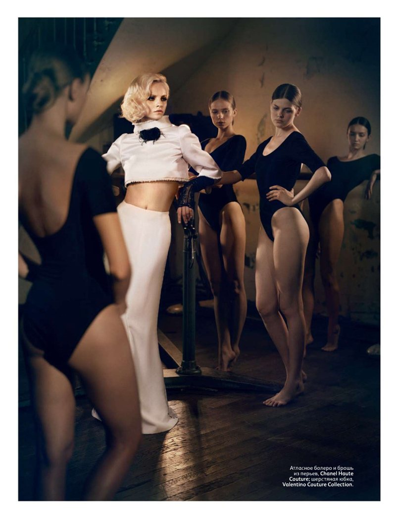 Ginta Lapina by Vincent Peters for Vogue Russia November 2011