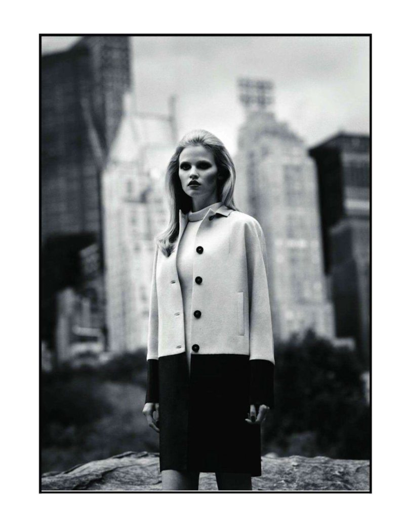 Lara Stone by Alasdair McLellan for Vogue Paris November 2011