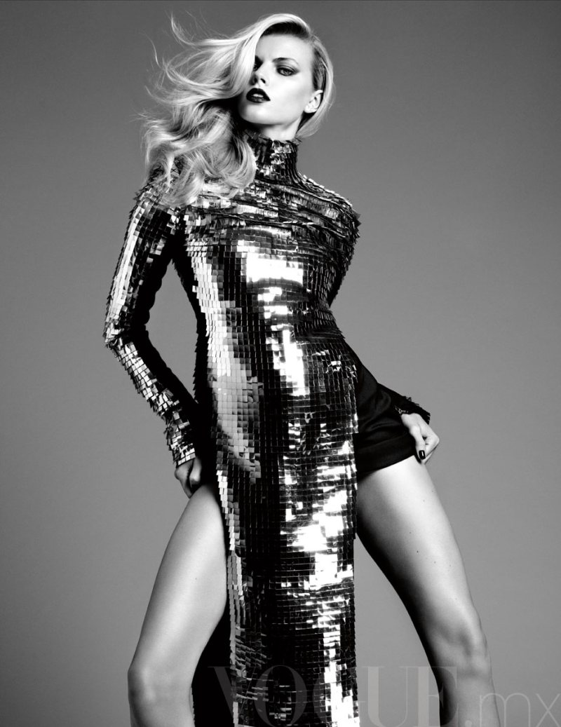 Maryna Linchuk by David Roemer for Vogue Mexico November 2011