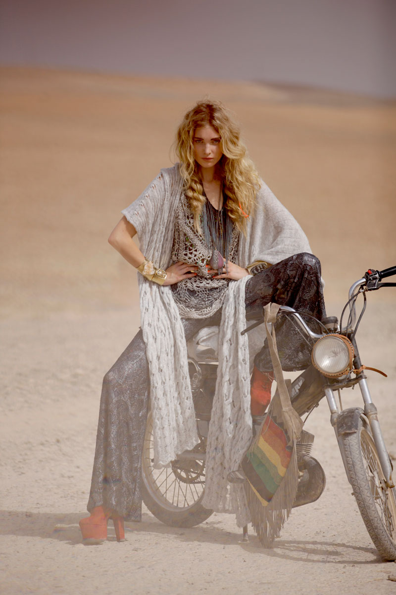 "Elsa Hosk & Marianna Santana for Free People ""Through the Decades"" Book by David Bellemere"