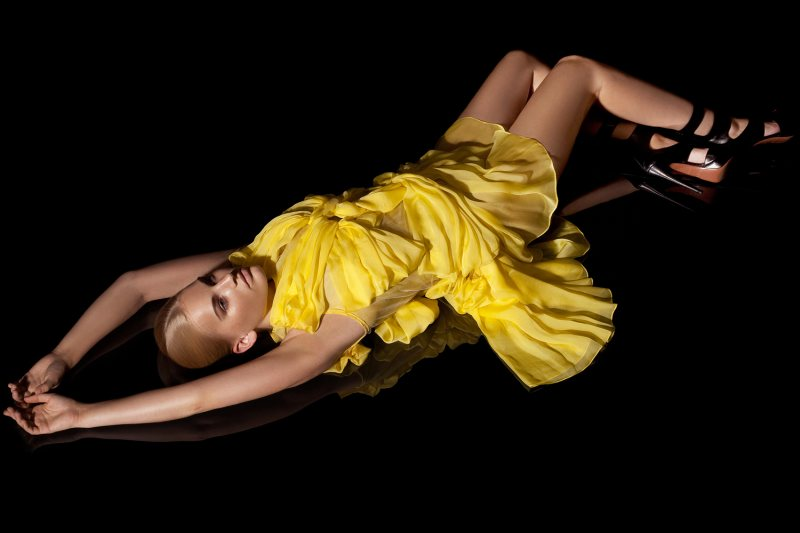 Madara Malmane by Polina Viljun for Atis Artemjevs Spring 2012 Collection