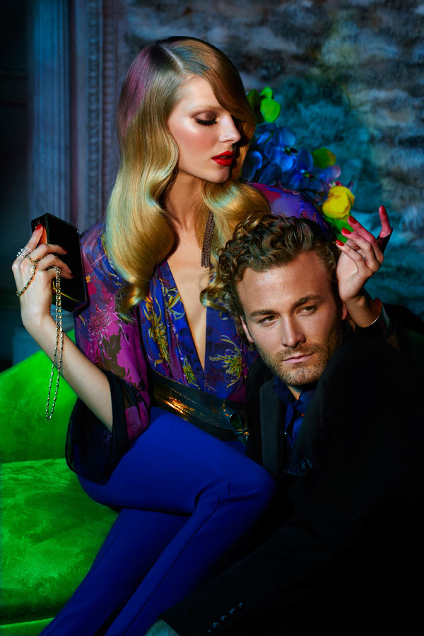 Ieva Laguna for Chateau Holiday 2011 Campaign by Max Abadian