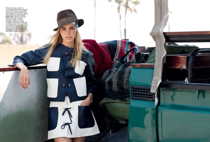 Isabel Lucas by Max Doyle for Vogue Australia December 2011