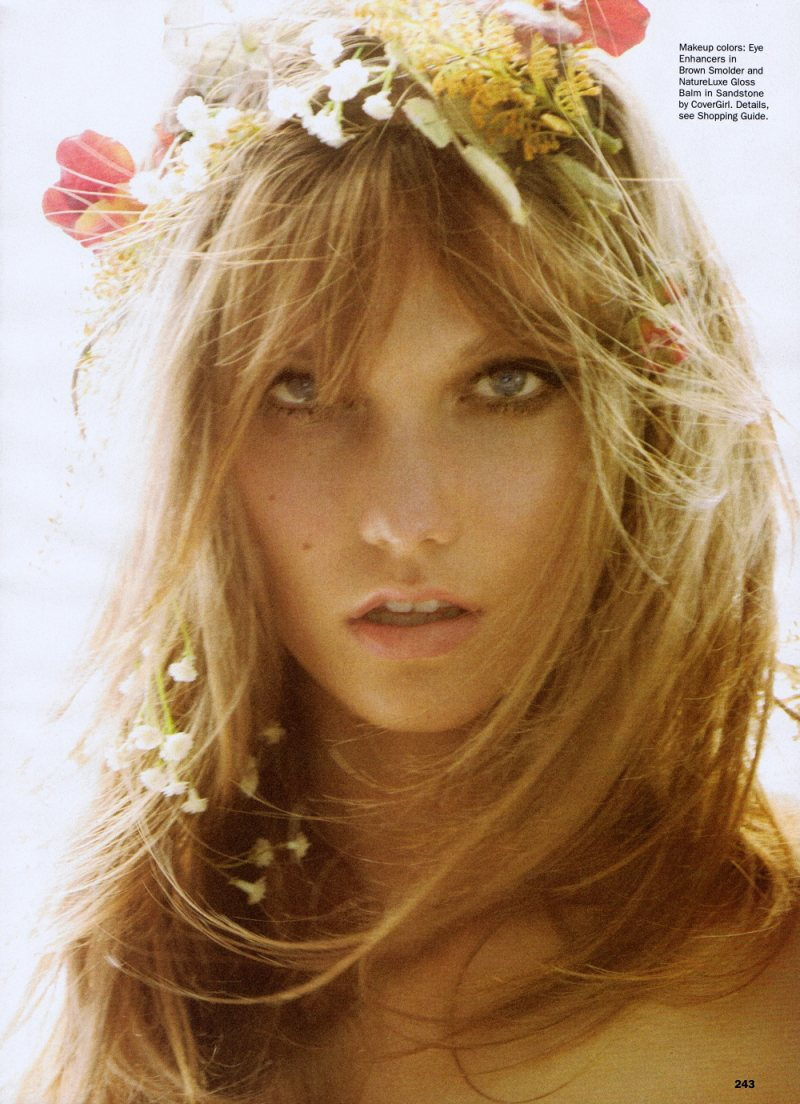Karlie Kloss by Mario Testino for Allure