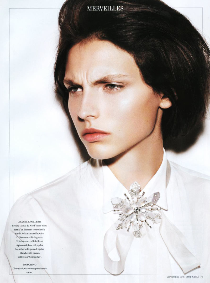Karlina Caune by Naomi Yang for L'Officiel Paris