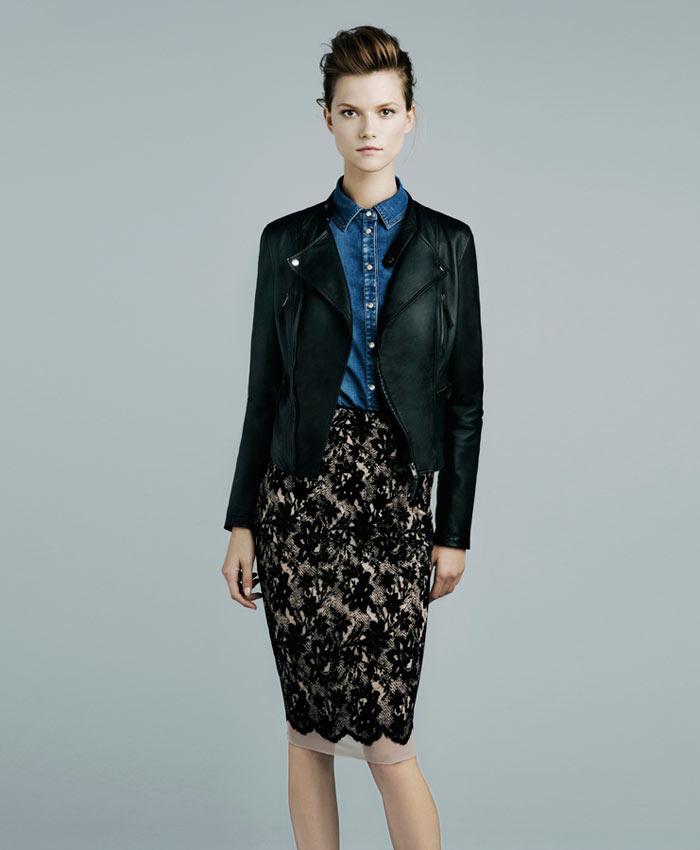 Kasia Struss for Zara November 2011 Lookbook