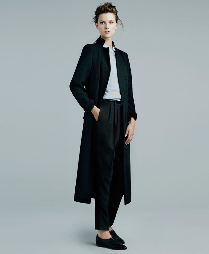 Kasia Struss for Zara November 2011 Lookbook