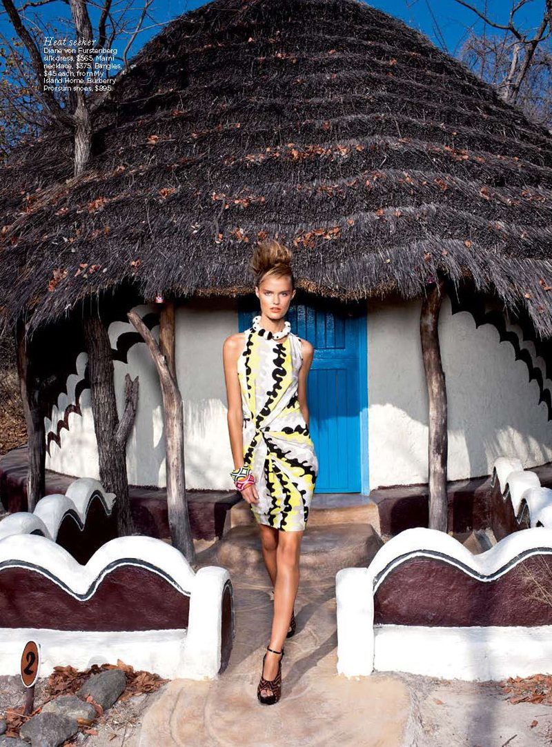 Katie Fogarty by Max Doyle for Vogue Australia December 2011