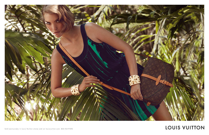 Louis Vuitton Cruise 2012 Campaign   Arizona Muse by Mark Segal