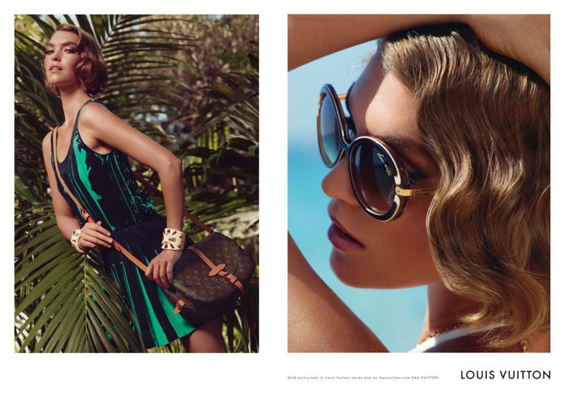 Arizona Muse for Louis Vuitton Cruise 2012 Campaign by Mark Segal