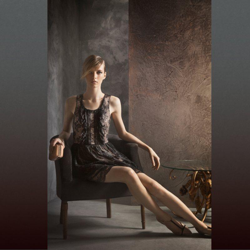 Daria Strokous for Massimo Dutti November 2011 Lookbook by Gemma Edo