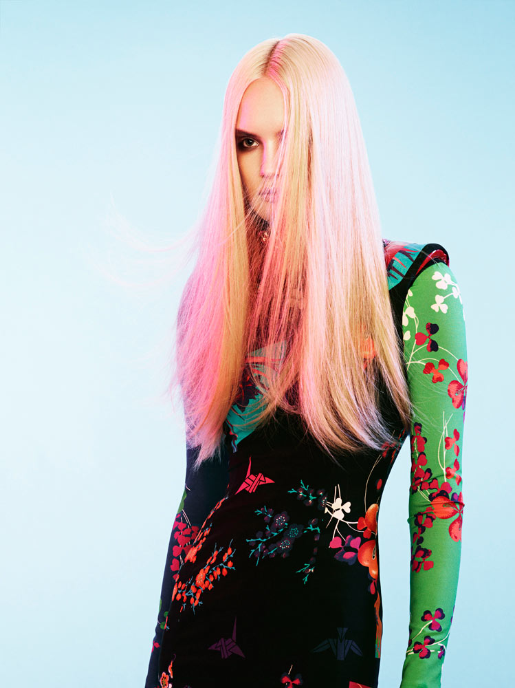 Henrietta Hellberg by Tobias Lundkvist in Versace for H&M for Rodeo