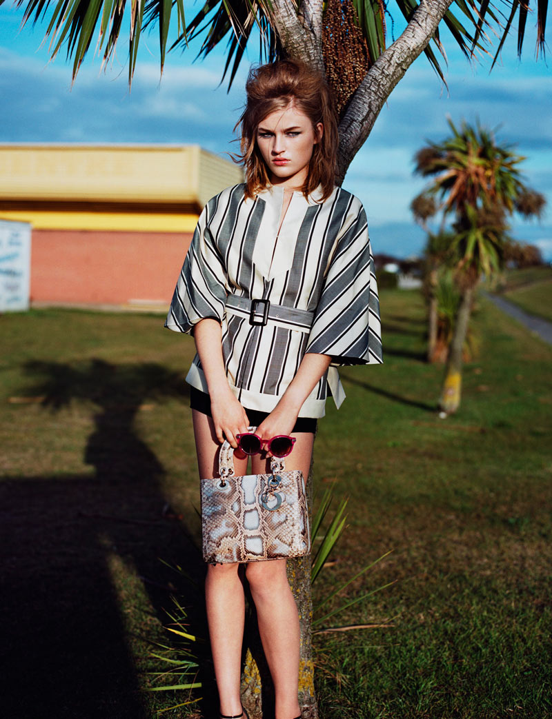Molly Smith in Dior by Mark Kean for Wonderland