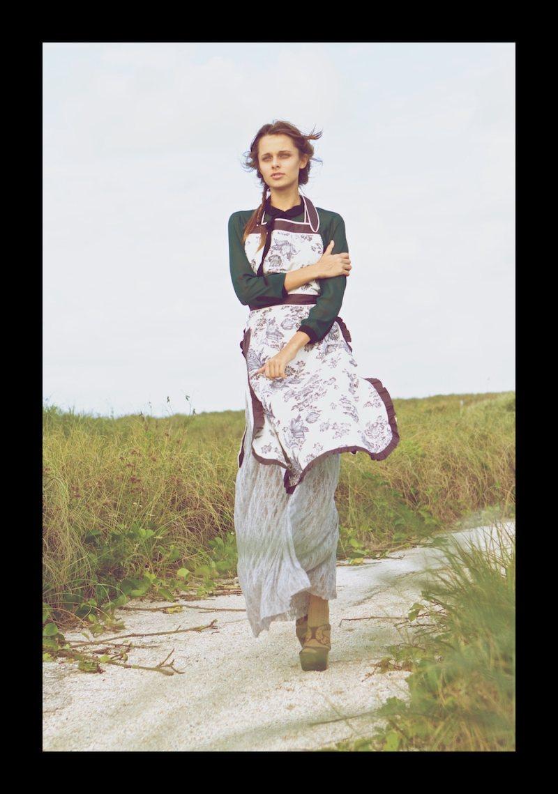 Fresh Face | Annie Gustafsson by Oscar Correcher