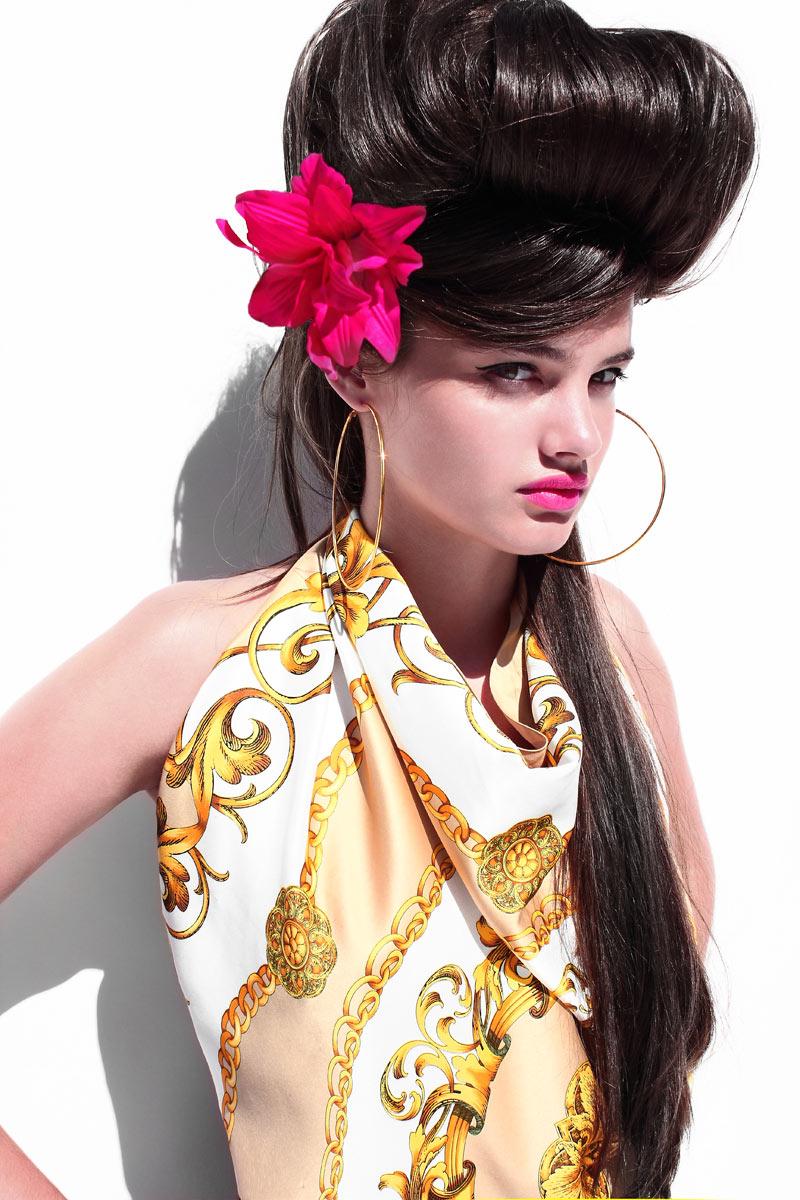 Signe by Bo Brinkenfalk in Versace x H&M for Fashion Gone Rogue