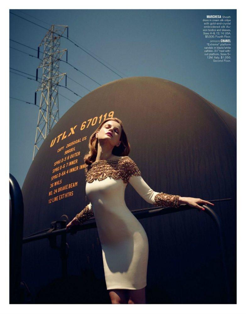 Guinevere van Seenus by Sofia Sanchez & Mauro Mongiello for Bergdorf Goodman Resort 2012
