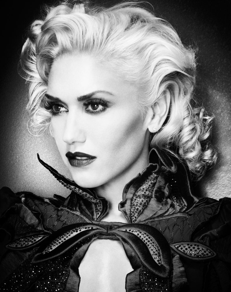 Gwen Stefani by Michelangelo di Battista for InStyle November 2011