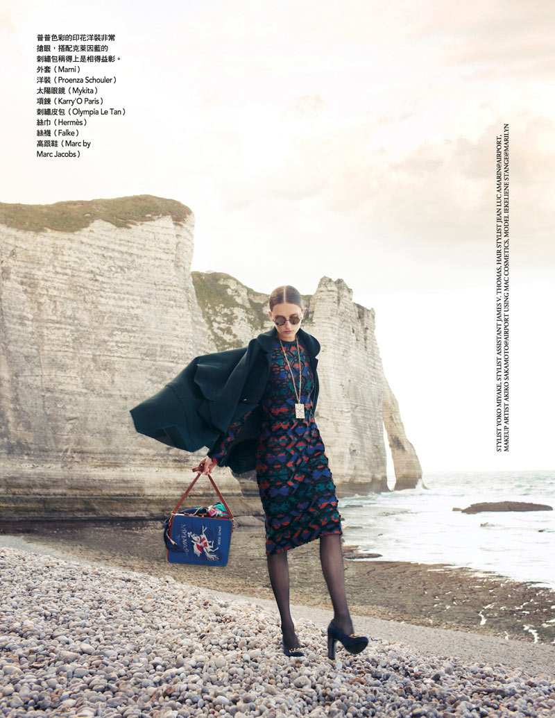Iekeliene Stange by Naomi Yang for Vogue Taiwan