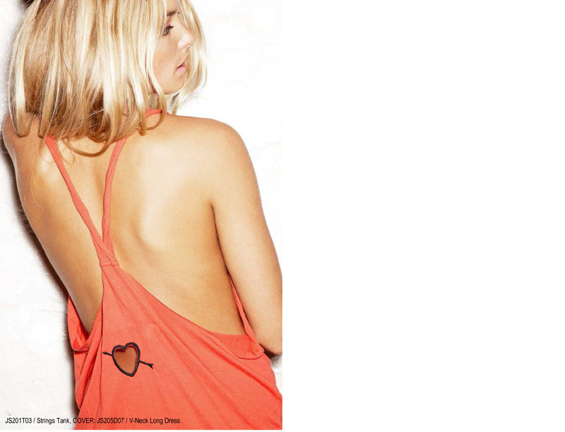Jessica Hart x Pencey Standard Spring 2012 Collection