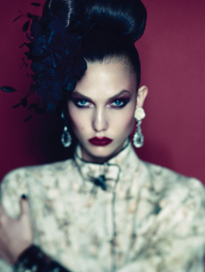 Karlie Kloss by Alexi Lubomirski for Vogue Germany December 2011