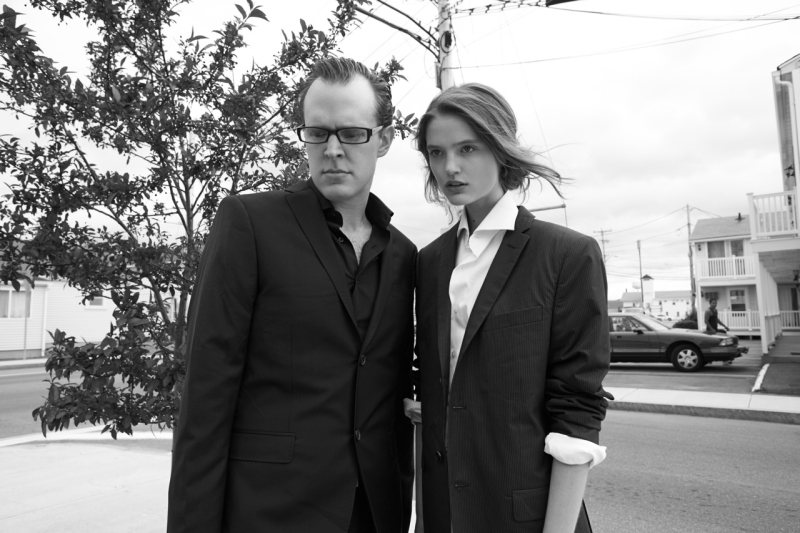 Katie Fogarty & Joe Bonamassa by Eric Guillemain for J. Lindeberg Biannual Book