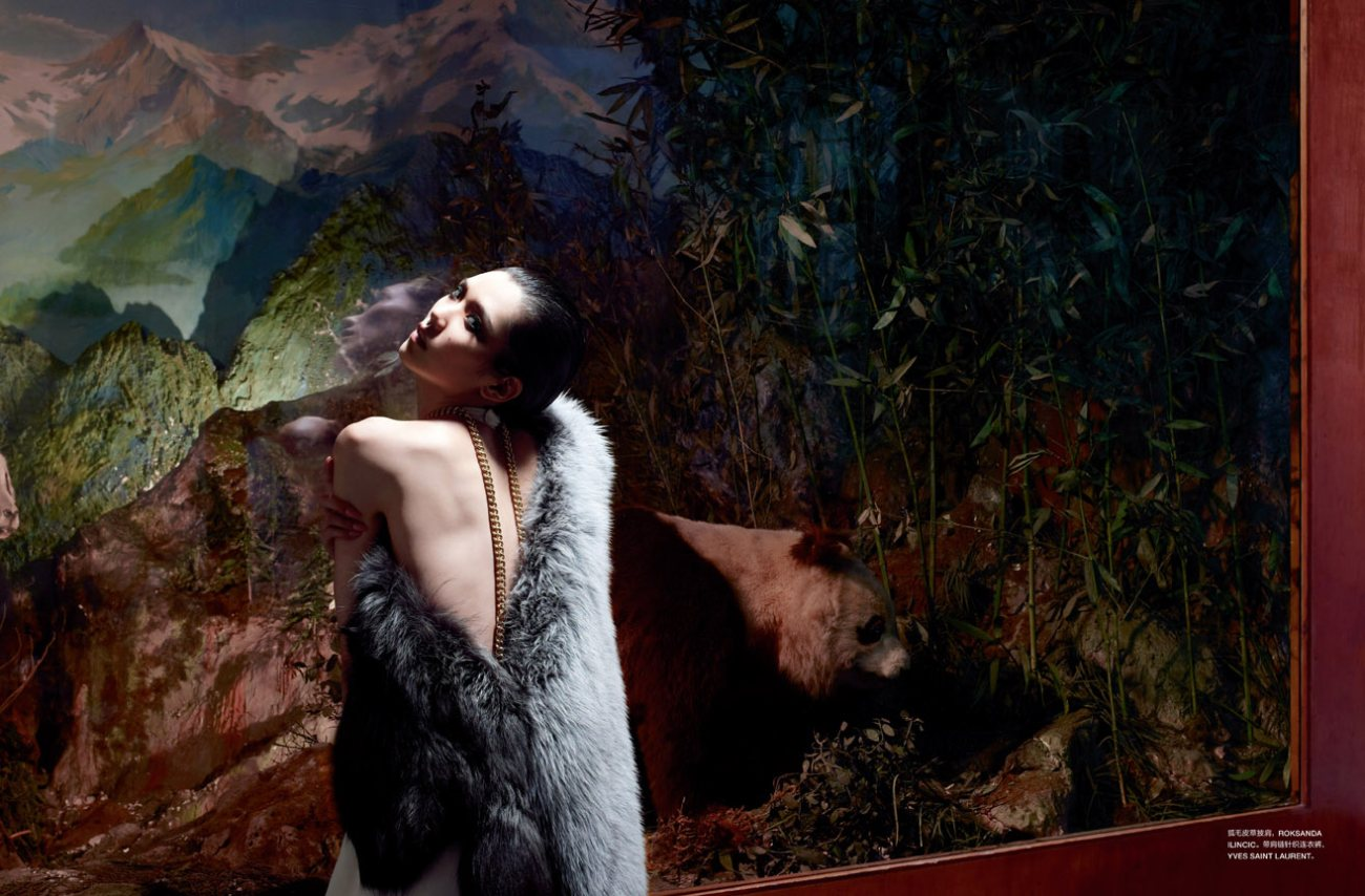 Tao Okamoto by John-Paul Pietrus for Numéro China