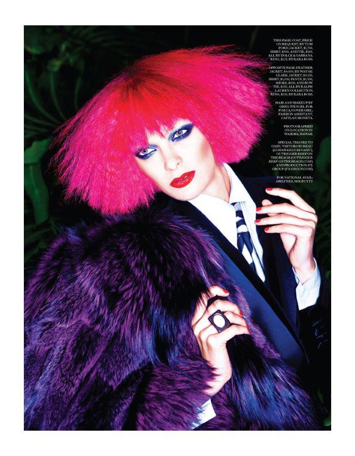 Natalia Bogdianova by Gabor Jurina for Fashion Magazine