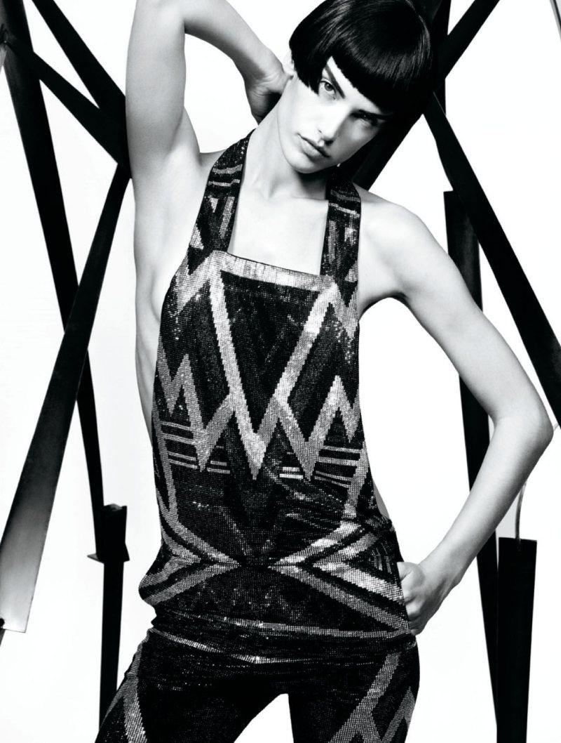 Alessandra Ambrosio by Chad Pitman for Muse Winter 2011