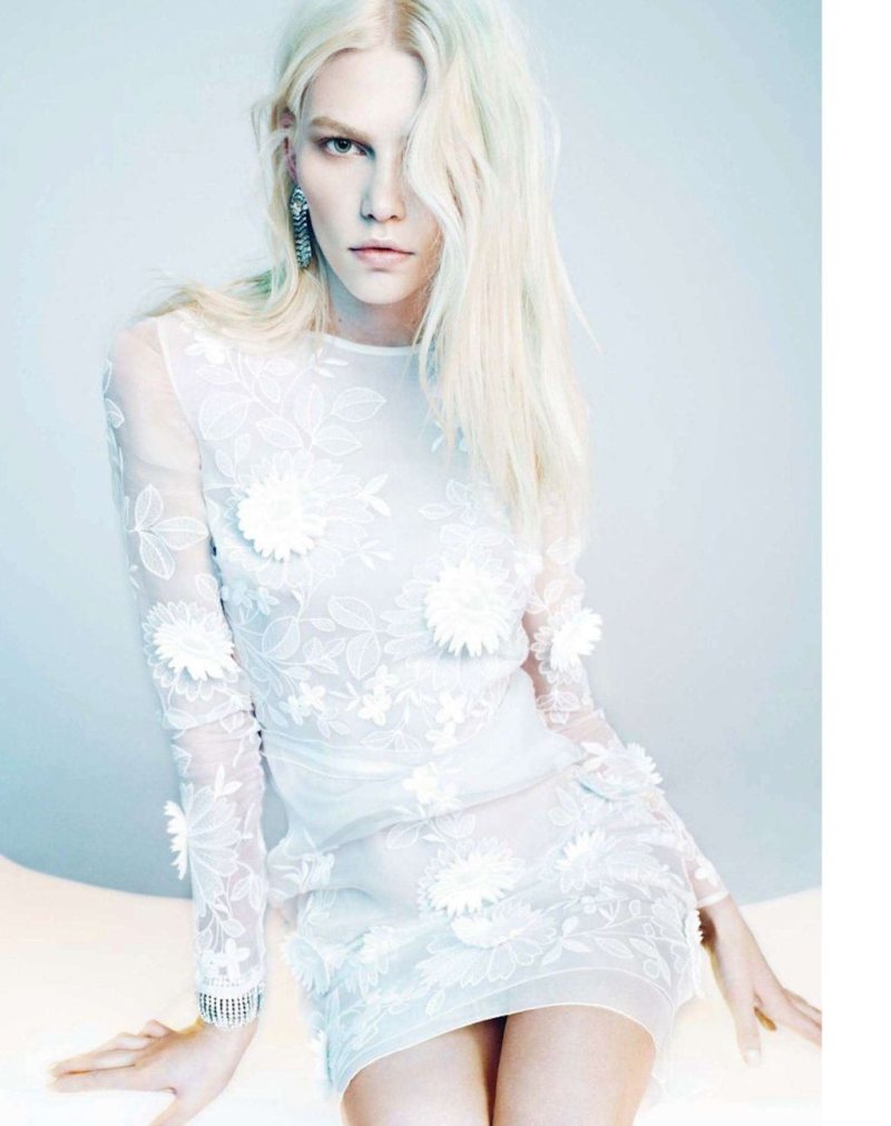 Aline Weber by Txema Yeste for Harper's Bazaar Spain December 2011