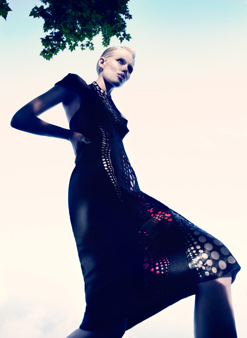 Alys Hale in David Koma by Paul Scala for V Magazine Online