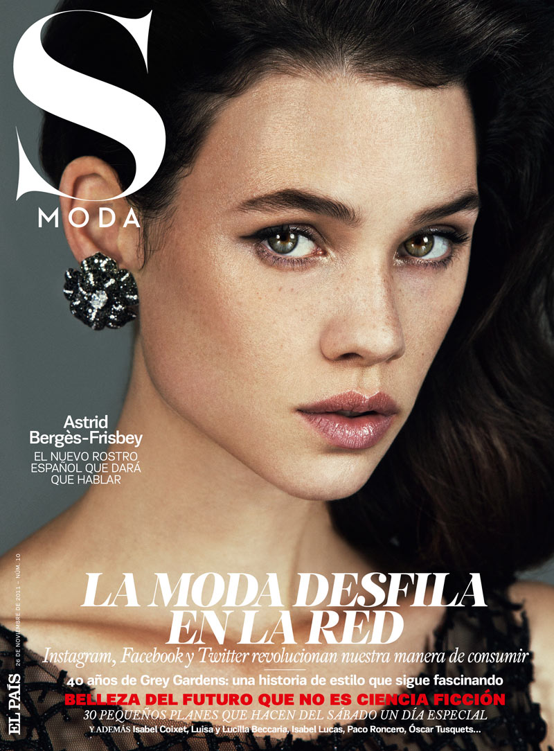 Astrid Berges-Frisbey by Pablo Delfos for S Moda