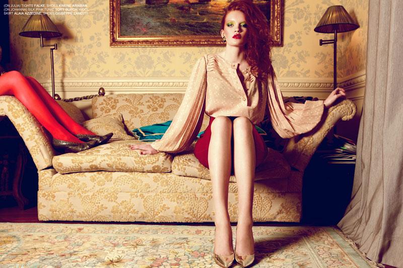 Julia Zimmer & Johanna Fosselius by Michelle Du Xuan for Fashion Gone Rogue