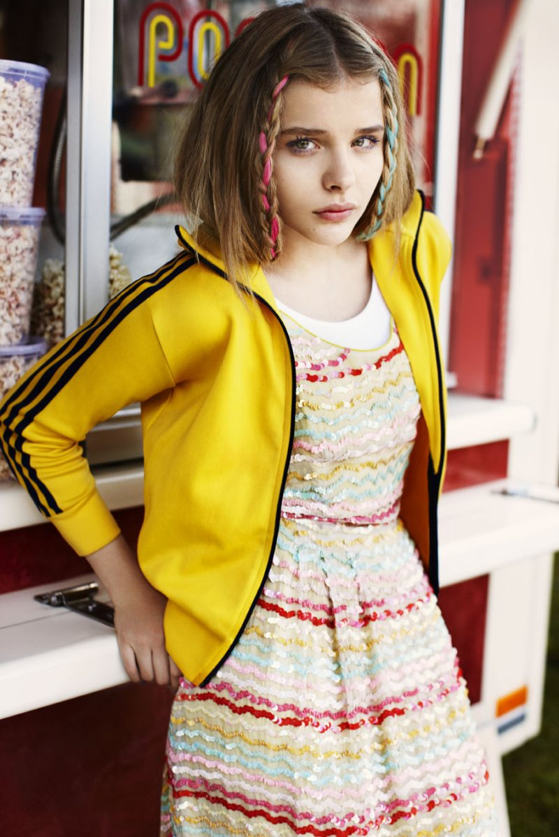 Chloe Moretz by Alex Sainsbury for ASOS Magazine