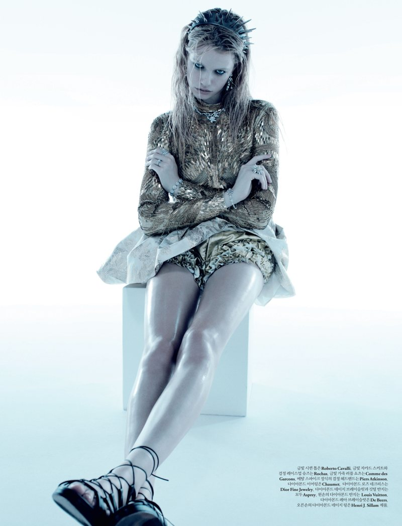 Hailey Clauson by Catherine Servel for W Korea December 2011