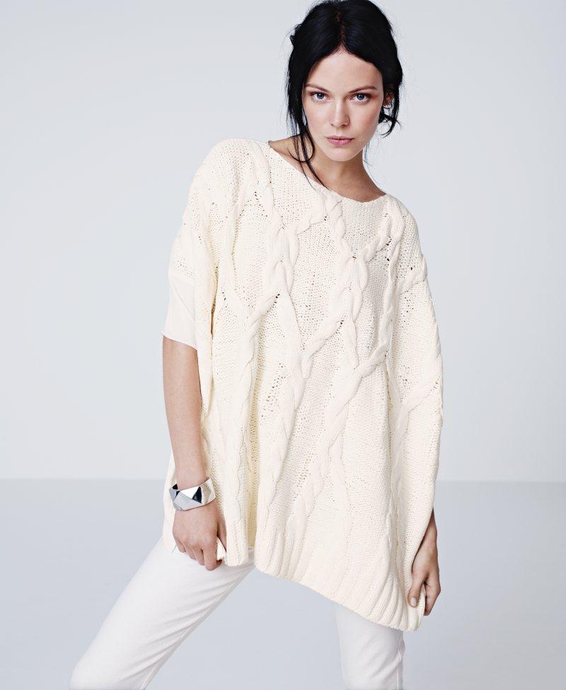 Kinga Rajzak for H&M Spring 2012 Lookbook