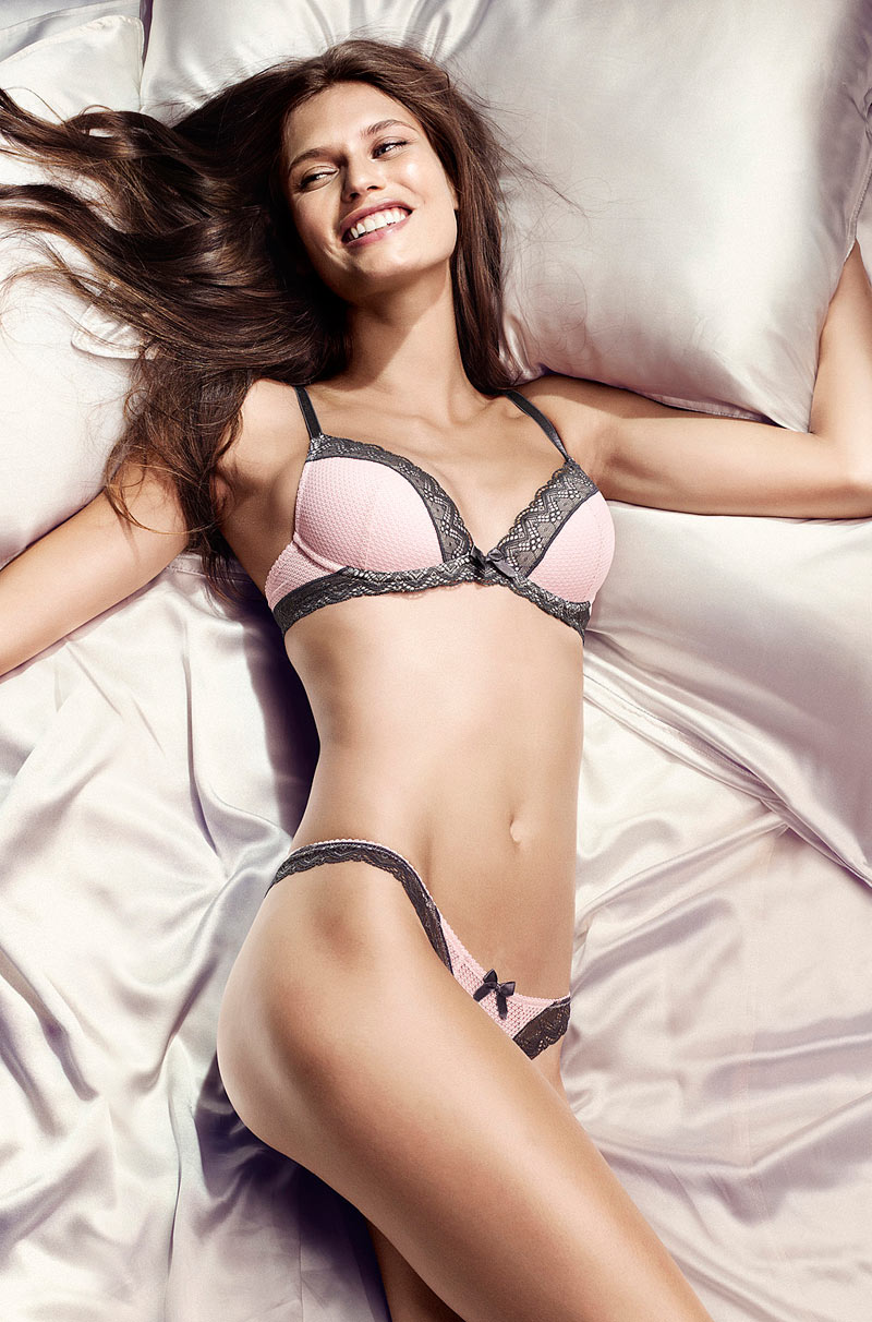 Bianca Balti & Heather Marks for H&M Lingerie by Peter Gehrke