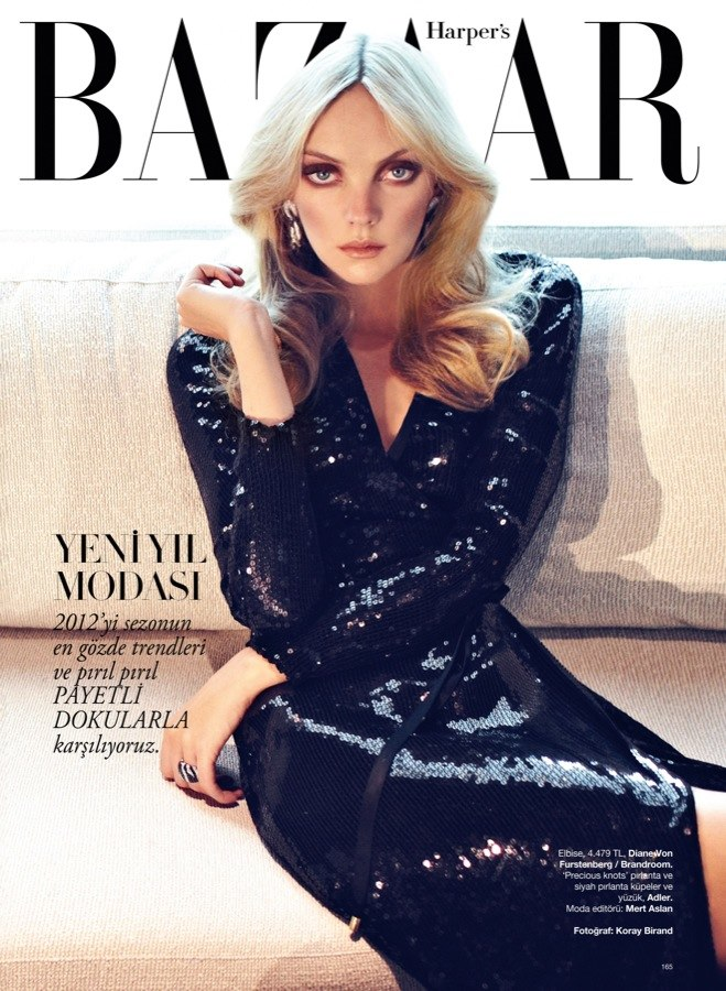 Heather Marks by Koray Birand for Harper's Bazaar Turkey December 2011