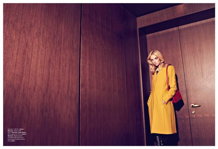 Heather Marks by Koray Birand for Harper's Bazaar Turkey December 2011