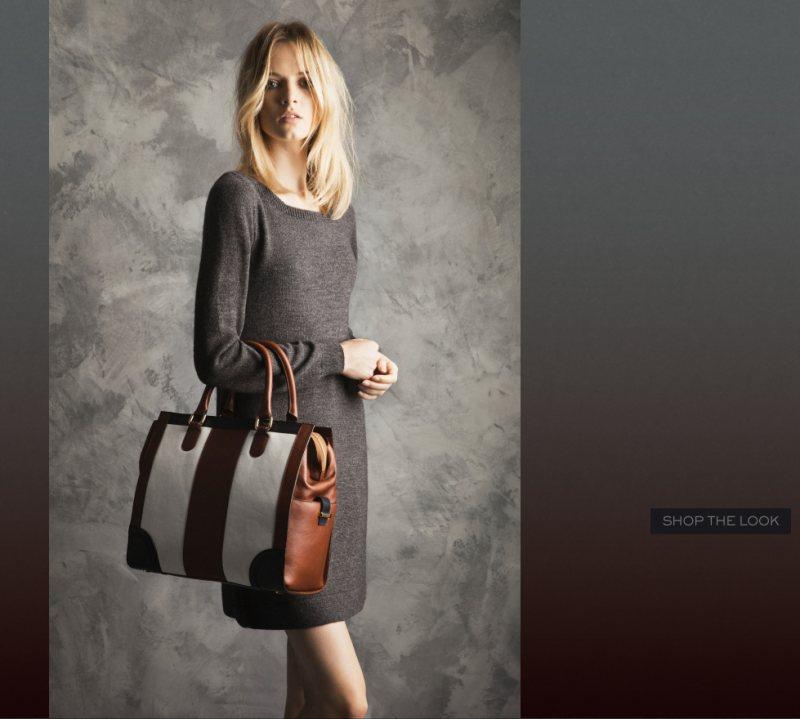 "Daria Strokous for Massimo Dutti ""Winter Days"" Lookbook"