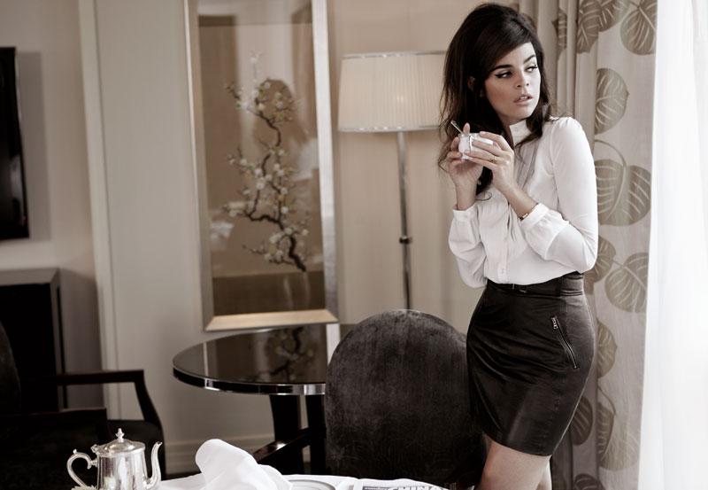 Julia Restoin Roitfeld x Me & City Winter 2011 Collection