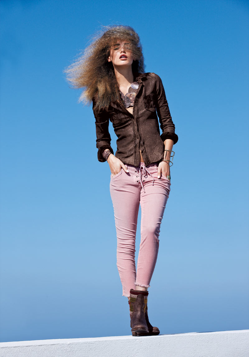 Mona Johannesson for Free People December 2011 Catalogue by Enric Galceran
