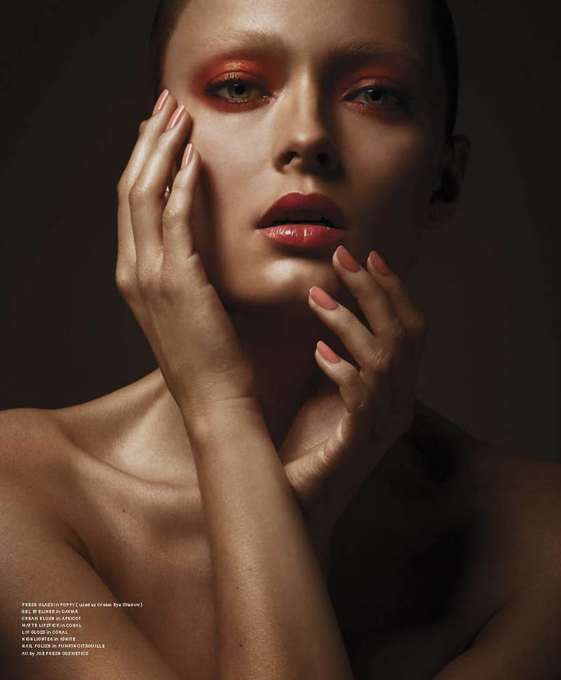 Olga Maliouk by Geoff Barrenger for Pulp Magazine #4